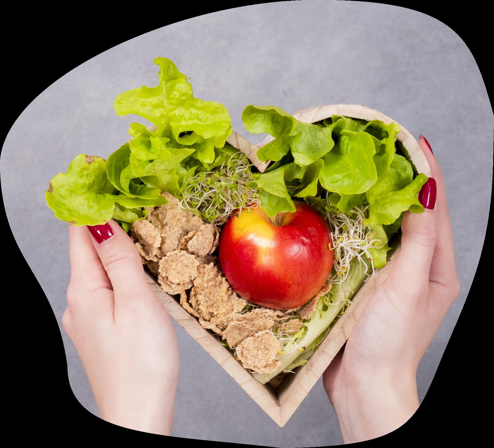 come saludable con nosotros
